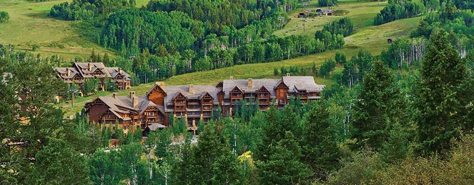Aerial of Timbers Bachelor Gulch