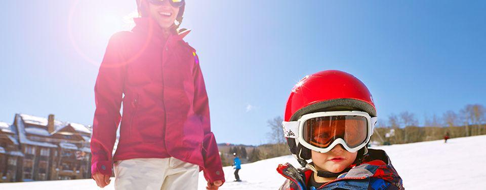 Family Skiing